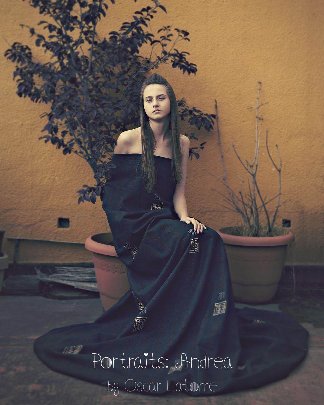 Andrea by Oscar Latorre